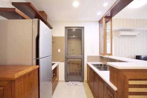 Masteri Thao Dien Condominium for Lease, Elegant woody Design 2 Bedroom